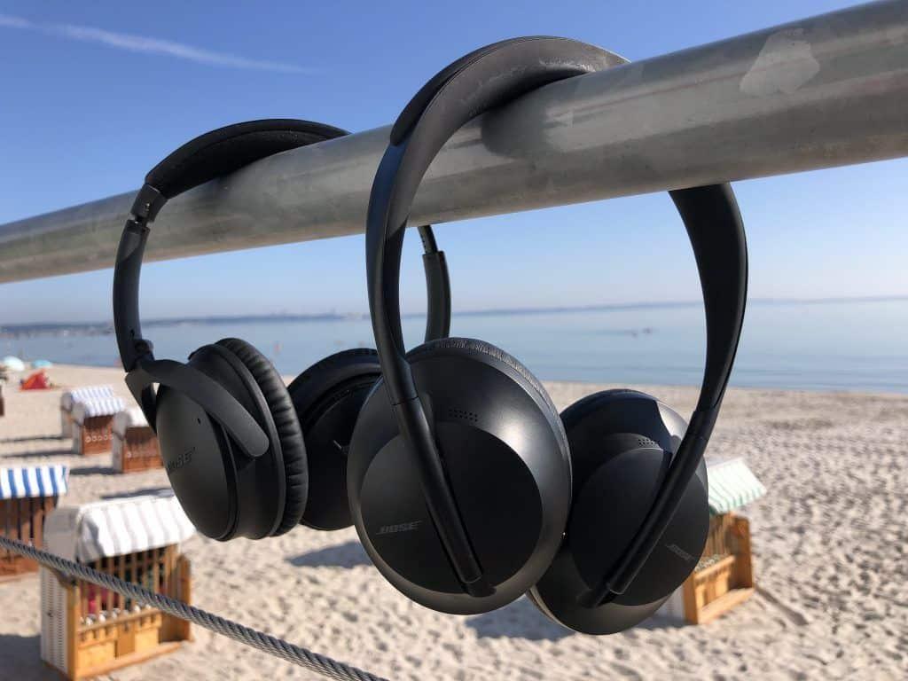 Im Vergleich zum QC35 wirkt das Design des Bose Kopfhörer 700 frisch und modern – je nach Perspektive allerdings auch etwas gewöhnungsbedürftig.