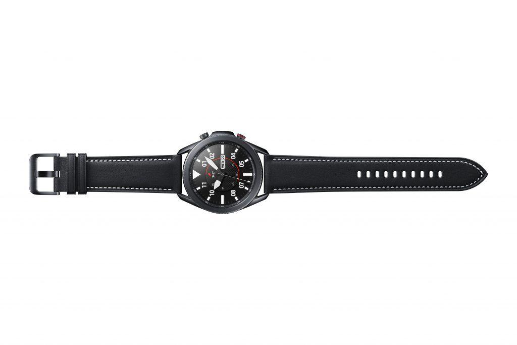 Die Lünette der Galaxy Watch 3 ist nicht nur zur Zierde an der Uhr, sondern hat auch eine Funktionalität erhalten. Foto: Samsung