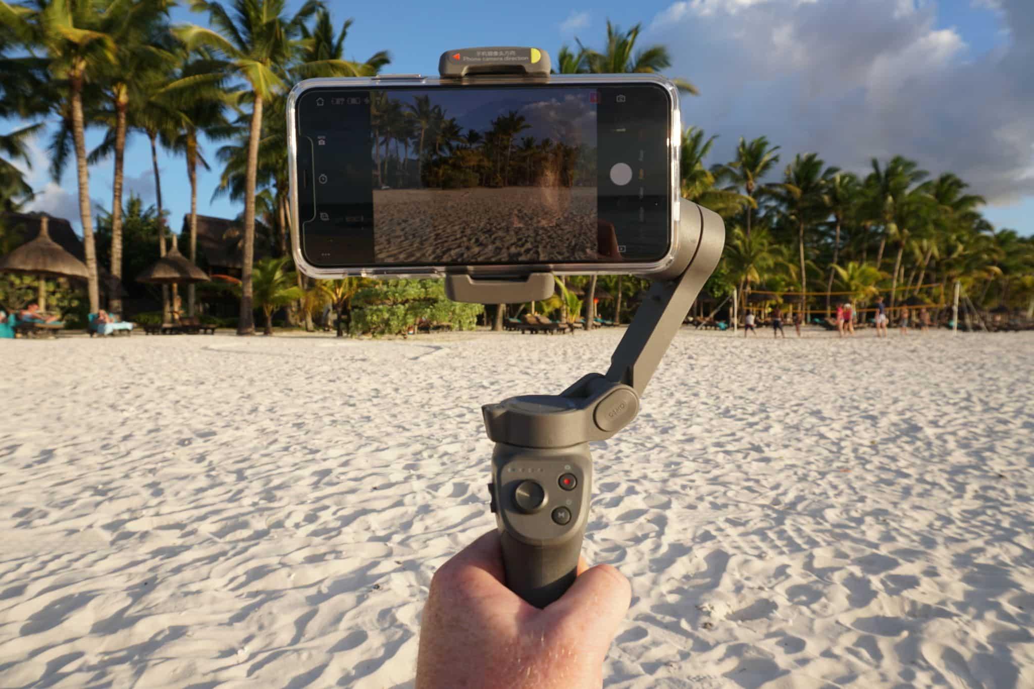 DJI Osmo Mobile 3 im Test: Ist der Gimbal aktuell der beste Smartphone-Stabilizer auf dem Markt? Wir haben es im Urlaub auf der Insel Mauritius ausführlich getestet. Foto: Sascha Tegtmeyer