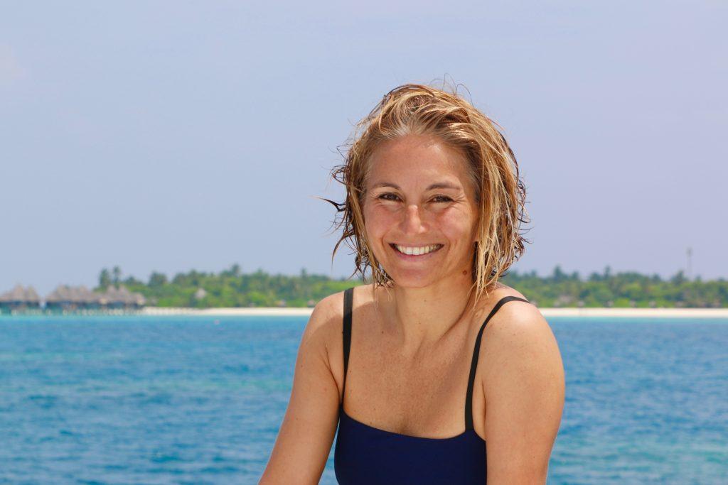 Die gebürtige Mailänderin Chiara Fumagalli ist Meeresbiologin auf den Malediven und hat ihren Traum zum Beruf gemacht. Foto: Sascha Tegtmeyer