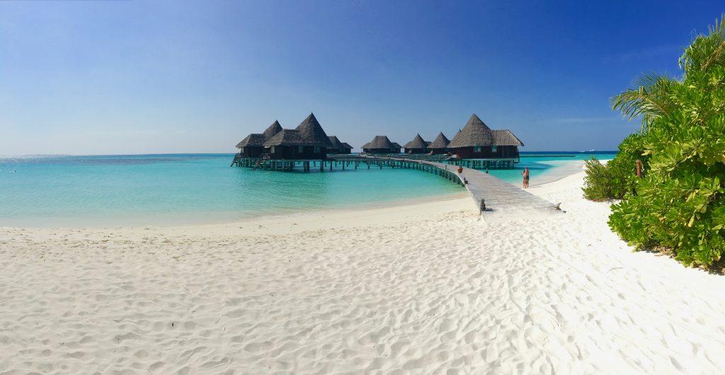 Trauminsel Coco Palm Dhuni Kolhu: Das Resort gehört zu den ältesten auf den Malediven. Foto: Sascha Tegtmeyer