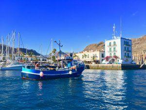 Die Marina von Puerto de Mogán auf Gran Canaria: Hier lässt es sich aushalten! Foto: Sascha Tegtmeyer puerto de mogan gran canaria