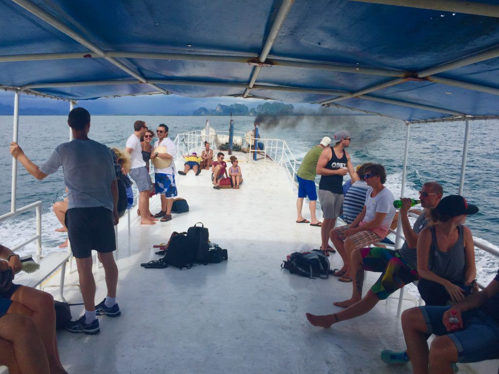 Fähre nach Koh Lipe: Die Schiffe entsprechen nicht unbedingt westlichen Standards – Urlauber sollten sich den Anbieter gut aussuchen. Foto: Sascha Tegtmeyer