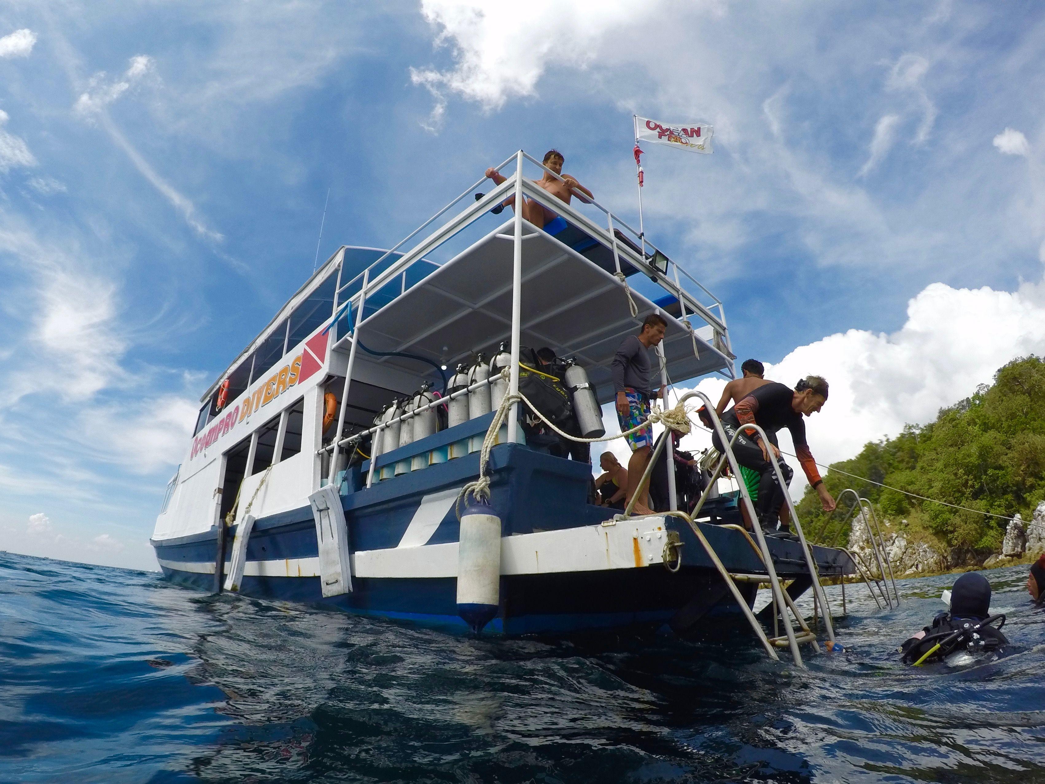Tauchboot auf Koh Lipe (Beispielbild). Foto: Sascha Tegtmeyer