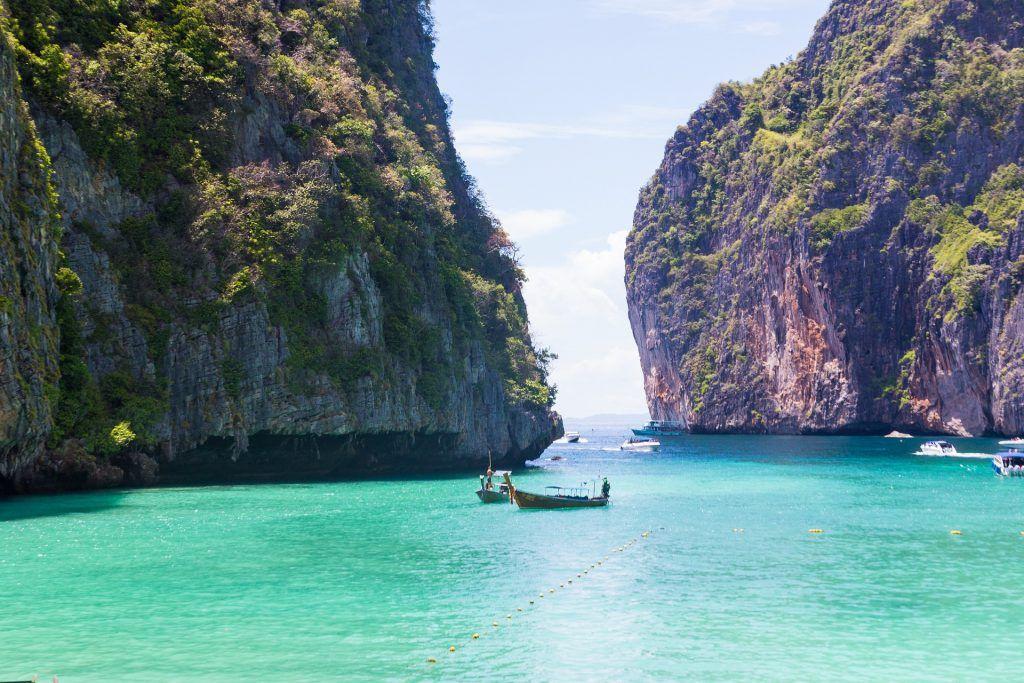 Die Maya Bay war anfangs einer der schönsten Strände in Thailand. Foto: Pixabay