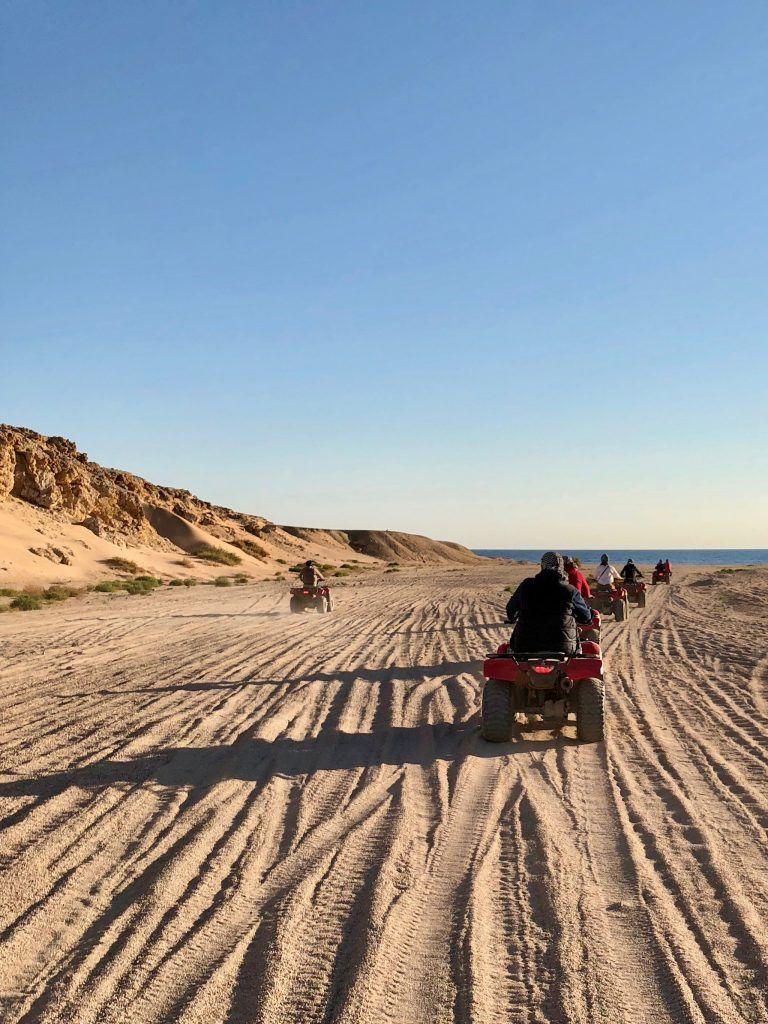 Mit dem Quad geht es in die Wüste. Foto: Sascha Tegtmeyer
