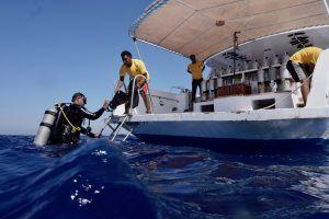 Service wird bei den Extra Divers groß geschrieben! Foto: Sascha Tegtmeyer