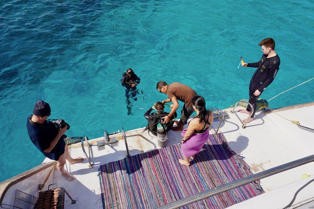 Sharm El Sheikh Reisebericht Tipps Mit dem Vip Diving College geht es zum Schnorcheln und Tauchen in Sharm El Sheikh. Foto: Sascha Tegtmeyer