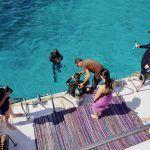 Mit dem Vip Diving College geht es zum Schnorcheln und Tauchen in Sharm El Sheikh. Foto: Sascha Tegtmeyer