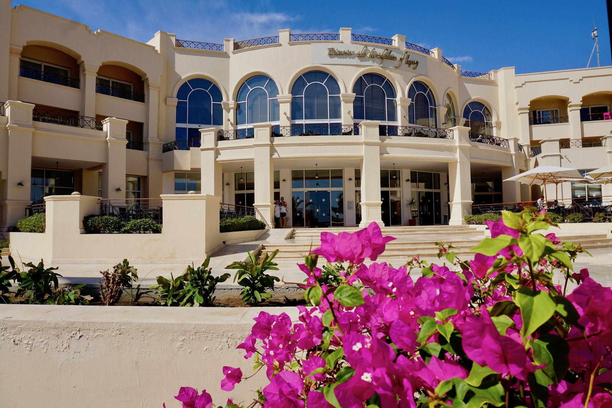 Das Cleopatra Luxury Resort ist eines der besten Hotels auf dem Sinai. Foto: Sascha Tegtmeyer