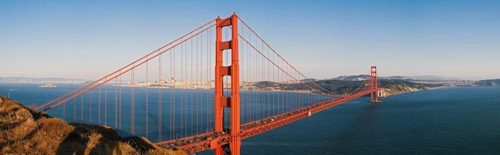 Kalifornien im Winter: Die Golden Gate Bridge in San Francisco solltet Ihr unbedingt besuchen! Foto: Pixabay
