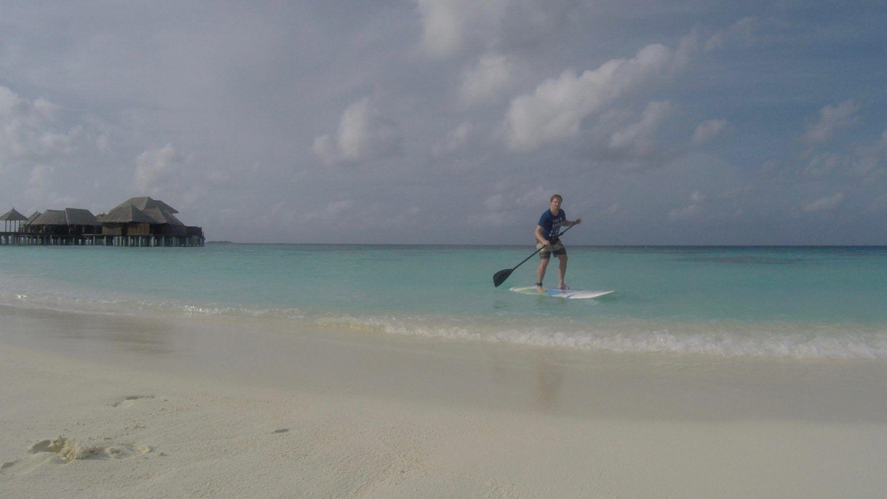 Coco Bodu Hithi: Die Lagune ist die Schokoladenseite jeder Malediven-Insel. Foto: Sascha Tegtmeyer
