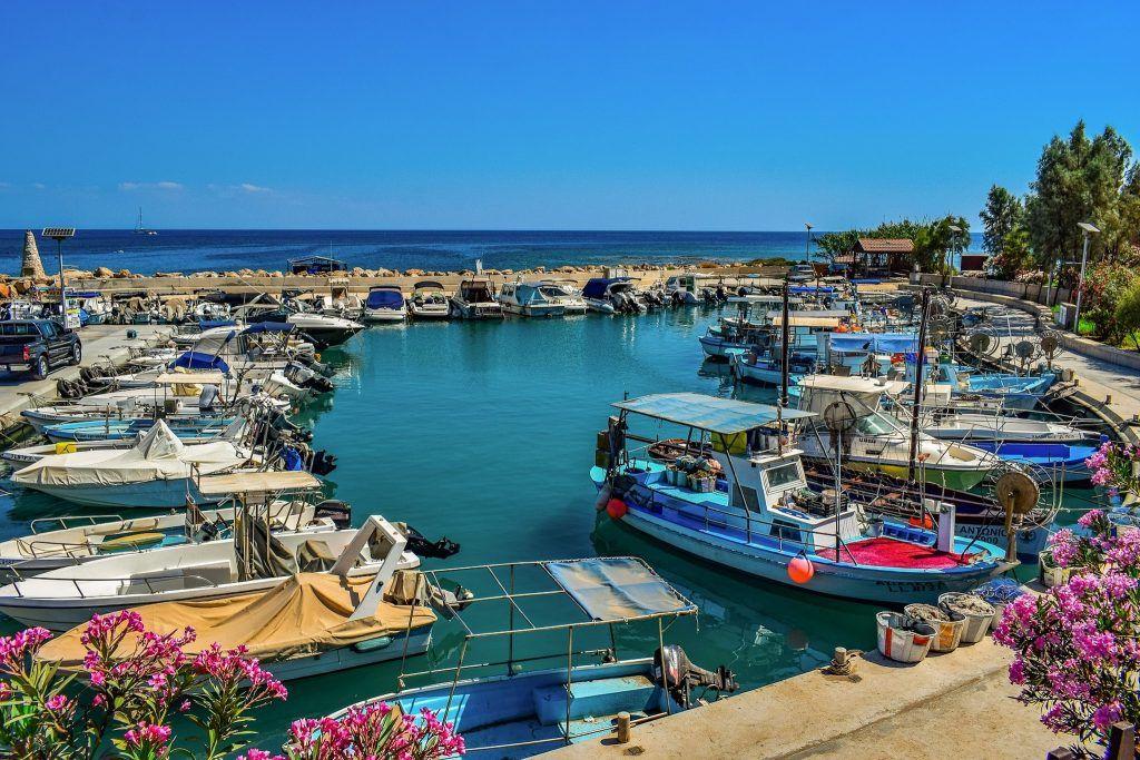 Kleiner Fischerhafen auf Zypern. Foto: Pixabay
