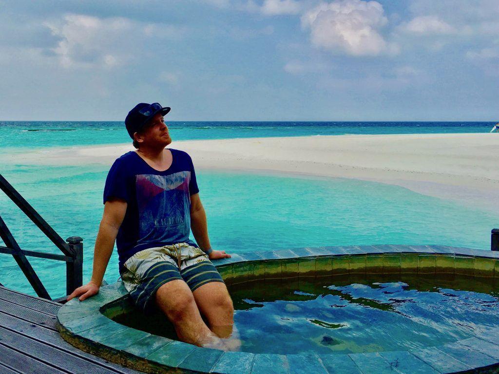 Sascha Tegtmeyer von Just Wanderlust auf den Malediven: Wir lieben das Reich der Inseln und möchten noch so oft wie möglich in unserem Leben in den Inselstaat reisen!