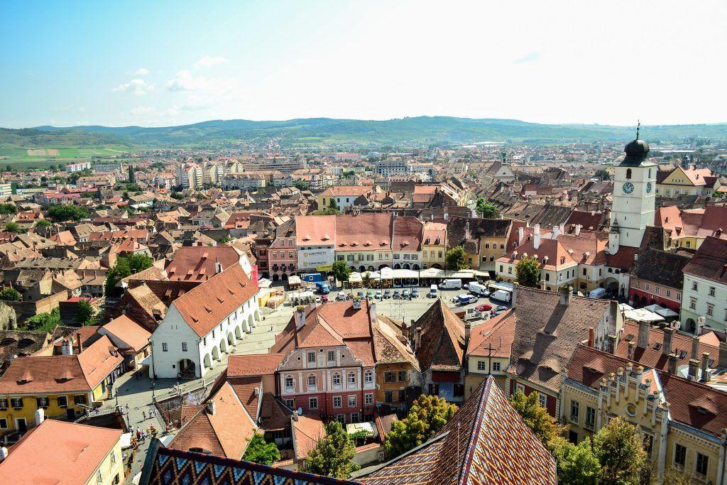 Hermannstadt ist mit 400.000 Einwohnern eine beachtliche Großstadt in den Karpaten. Foto: Pixabay