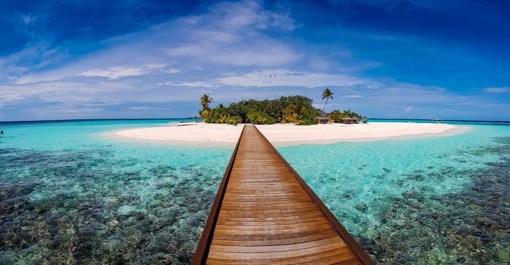 Malediven: eines der schönsten Fernreise-Reiseziele der Welt. Foto: Unsplash