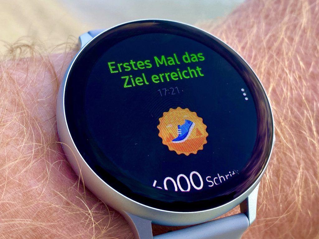 Samsung Galaxy Watch Active 2 Test Urlaub Reisen Alltag SportIMG 6166