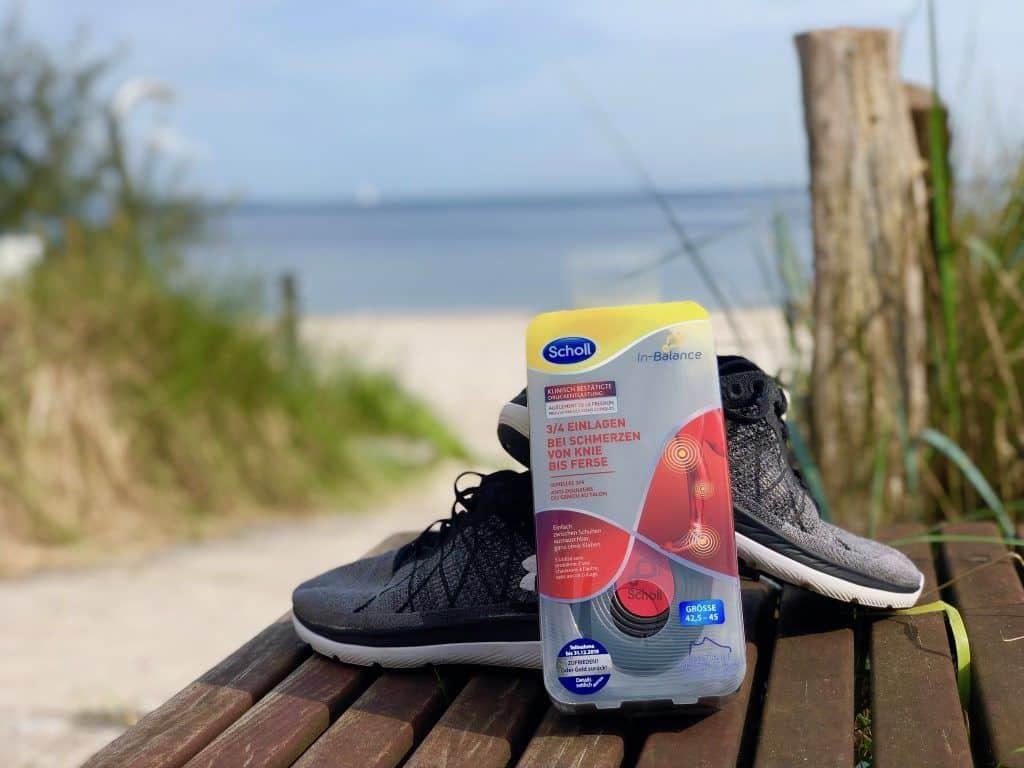 Mit unseren Tipps für mehr Spaß bei der Bewegung im Urlaub und den Scholl In Balance 3/4 Einlagen bleibt Ihr fit und aktiv auf Reisen. Foto: Sascha Tegtmeyer