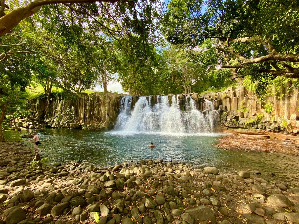 Die Rochester Falls befinden sich ganz im Süden von Mauritius. © Sascha Tegtmeyer