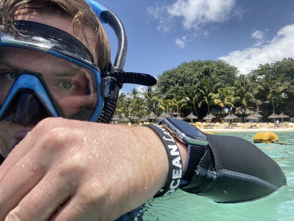Ich habe die Apple Watch beim Schwimmen ausführlich getestet. Foto: Sascha Tegtmeyer