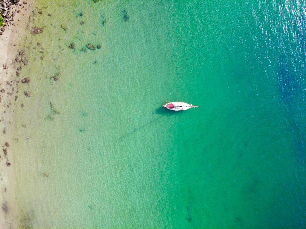 Noch ist man mit seinem Segelboot in Thailand relativ allein auf weiter Flur. Foto: Sascha Tegtmeyer