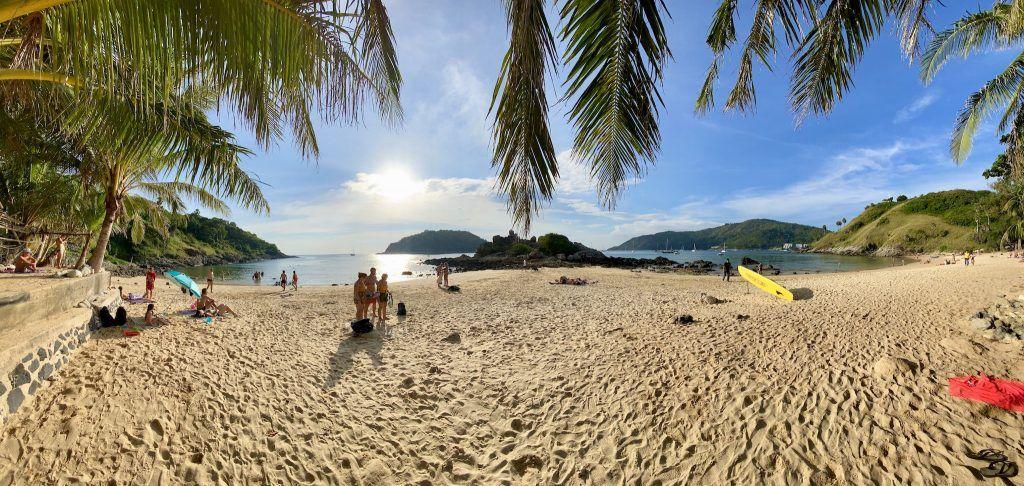Der herrliche Strand Ya Nui Beach ist nur zweieinhalb Kilometer oder ungefähr zehn Minuten mit dem Roller entfernt. Foto: Sascha Tegtmeyer