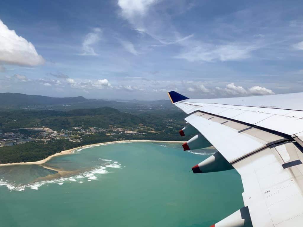 Luftaufnahme von Phuket: Die Insel befindet sich im Süden von Thailand. Foto: Unsplash