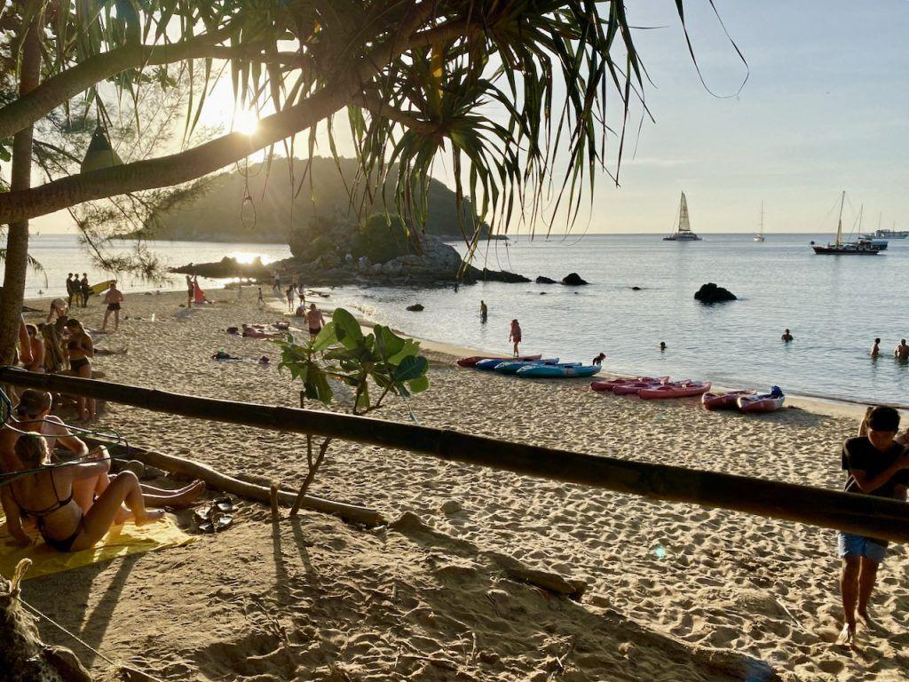Der Ya Nui Beach ganz im Süden von Phuket ist ein optischer Leckerbissen – und bestens zum Stand Up Paddling geeignet. Foto: Sascha Tegtmeyer