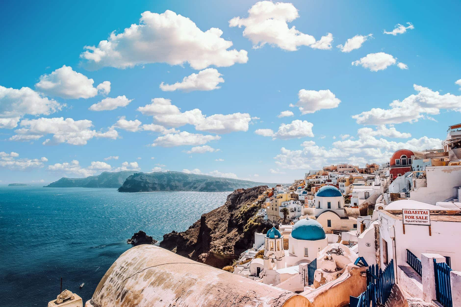 Traumkulisse: Ein Urlaub auf den griechischen Inseln ist einfach herrlich.
