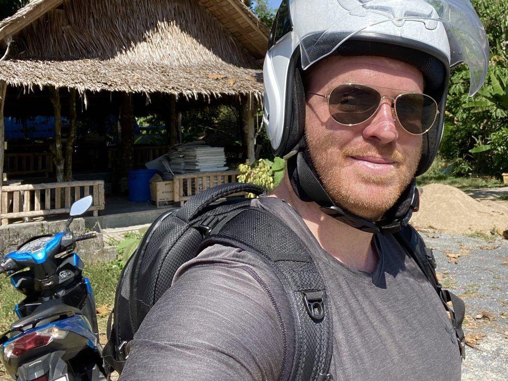Mit dem Roller habe ich Phuket von vorne bis hinten für Euch erkundet. Foto: Sascha Tegtmeyer