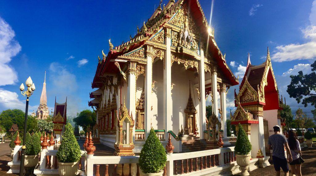 Der Wat Chalong ist der größte und wichtigste Tempel auf Phuket. Foto: Sascha Tegtmeyer