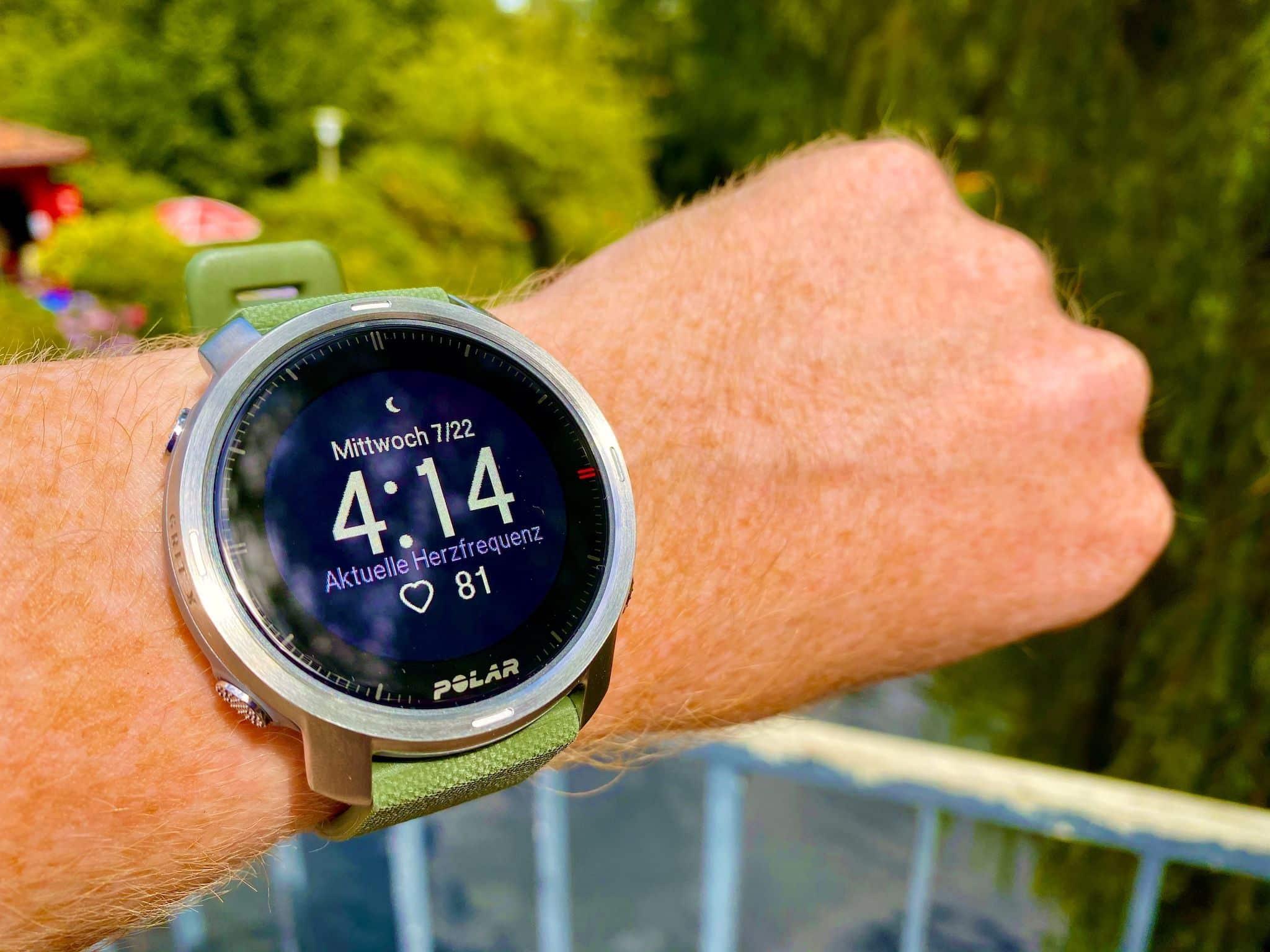 Polar Grit X im Test: Wir haben uns die Outdoor-Smartwatch ausführlich angeschaut. Foto: Sascha Tegtmeyer