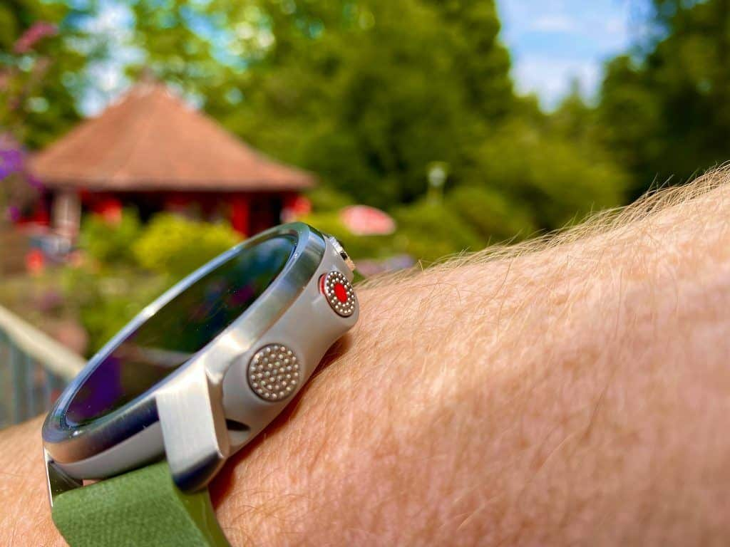 Eine runde Sache: In meinem Polar Grit X Test hat sich die Multisport-Outdoor-Smartwatch als verlässlicher Begleiter bewiesen. Foto: Sascha Tegtmeyer
