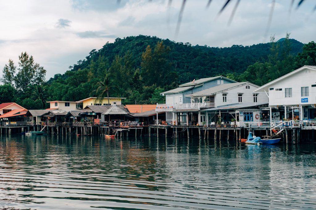 Die Insel Koh Chang befindet sich im Nordosten des Golfs von Thailand.
