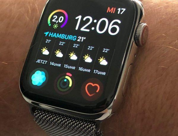 Das Uhrenglas einer Smartwatch besteht häufig aus Saphirglas, Gorilla Glas oder Mineralglas. Foto: Sascha Tegtmeyer