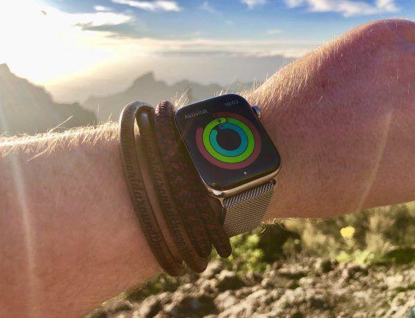 Wir haben die Apple Watch beim Wandern ausprobiert: eignet sich die Smartwatch bei allen Outdoor-Einsätzen? Foto: Sascha Tegtmeyer