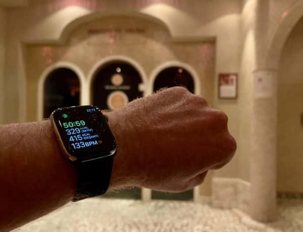 Apple Watch Sauna: kann man mit der Smartwatch saunieren? Ich habe es für dich ausprobiert. Foto: Sascha Tegtmeyer