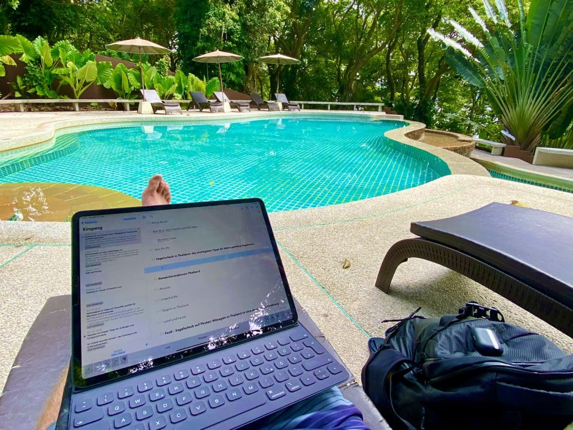 Wir haben das iPad Pro auf Reisen im Test ausprobiert und uns gefragt: Ersetzt das Tablet im Urlaub einen Laptop? Foto: Sascha Tegtmeyer