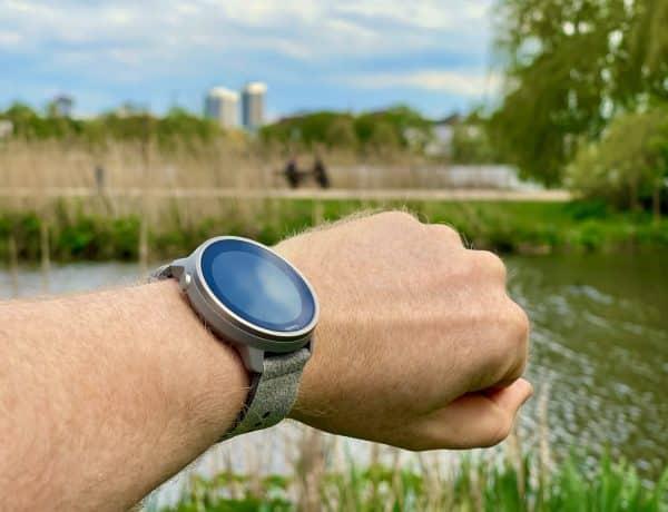 Suunto 7 Stone Gray Titanium im Test: die Smartwatch für Sportler ist jetzt noch ein Stück eleganter geworden. Foto: Sascha Tegtmeyer