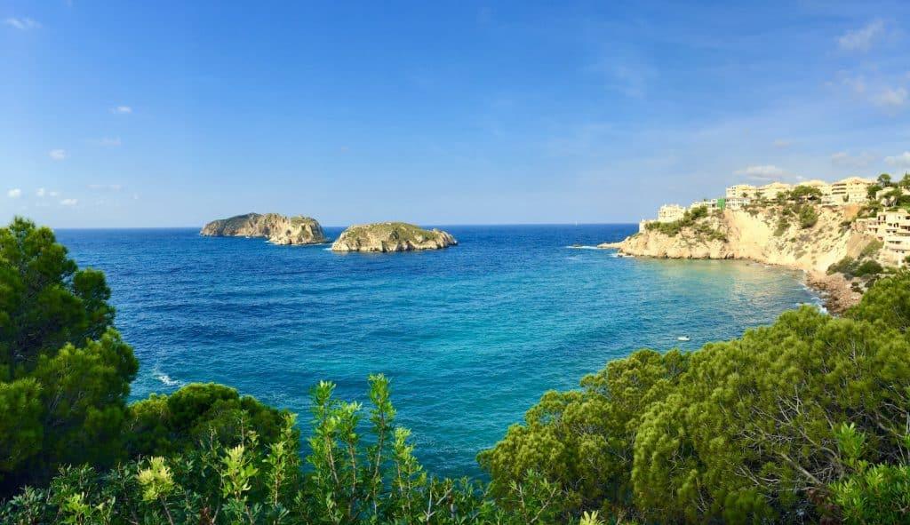 Die Illes Malgrats vom Mirador las Malgrats aus fotografiert. Foto: Sascha Tegtmeyer